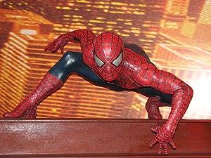 Spiderman (Madame Tussauds London).
