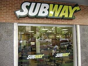 Subway in Belo Horizonte. Português: Subway em...