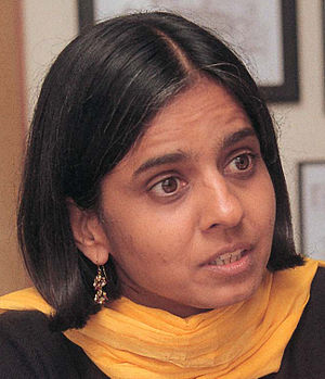 English: Sunita Narain director, Centre for Sc...