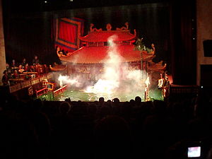Thang Long Water Puppet Theatre.