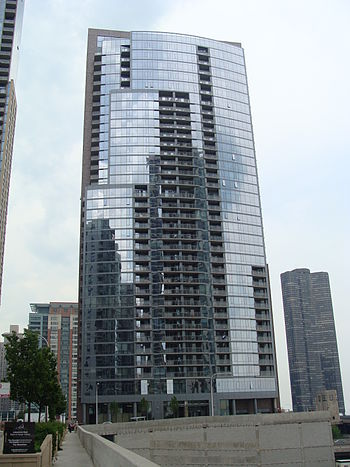 English: The Chandler in Lakeshore East, Chicago