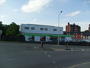 English: The Co-operative Store Newtown Cooper...