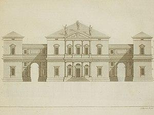 Villa Pisani in Leoni from Palladio