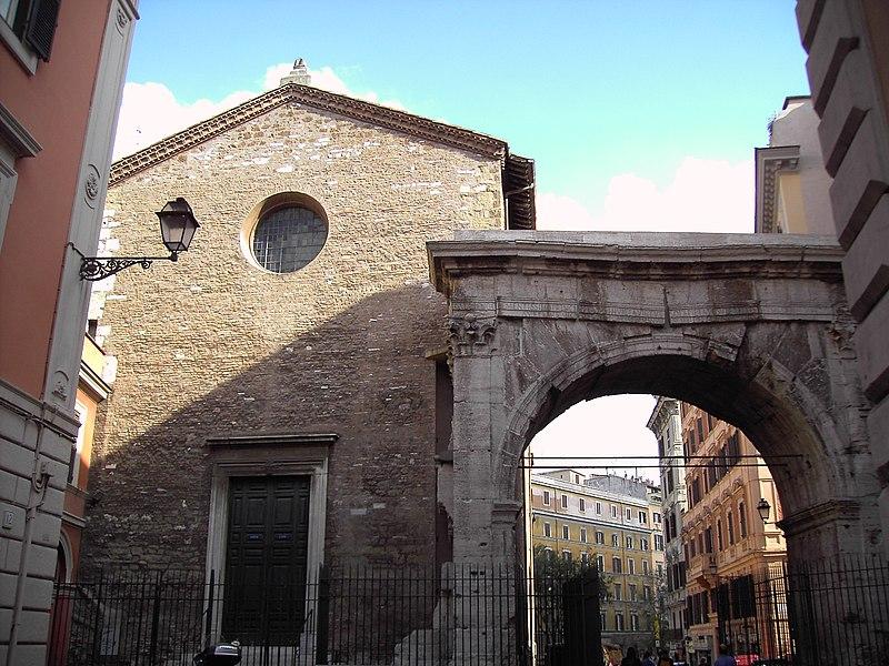File:Arco Gallieno e chiesa di san Vito.JPG