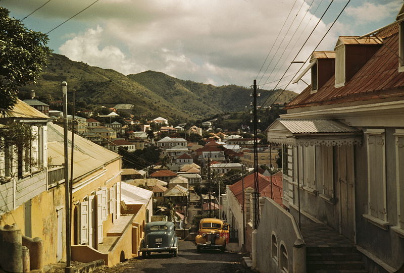 Charlotte Amalie, St. Thomas, Virgin Islands 1a33934u original