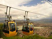 Vista de Cochabamba desde el cerro de San Pedro