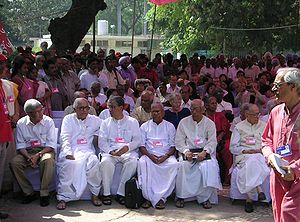 CPI(M) leaders at the 18th party congress