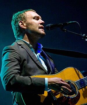 English: David Gray performs at Marymoor Park ...