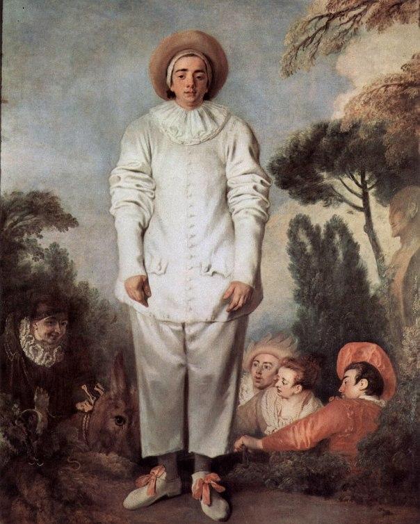 Jean-Antoine Watteau - Pierrot, dit autrefois Gilles