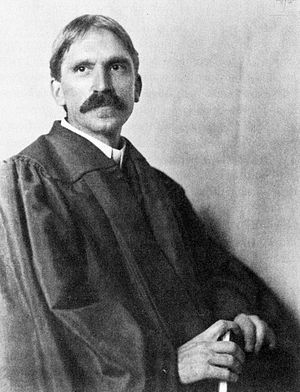 English: John Dewey at the University of Chica...