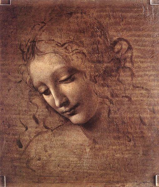 File:Leonardo da Vinci - Female head (La Scapigliata) - WGA12716.jpg