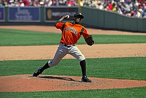 Bowie Baysox pitcher at , 2009.