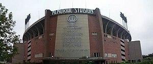 Memorial Stadium in Baltimore. Photo taken 200...