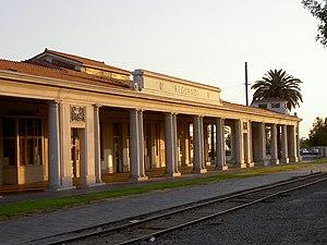 Redlands, California train station.