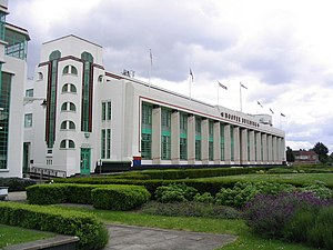 English: The Hoover Building, Perivale, London...