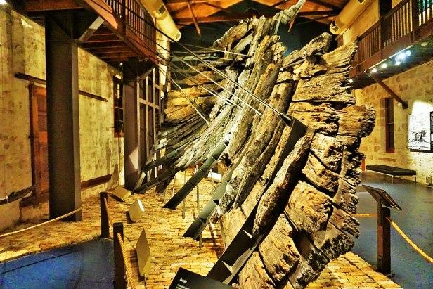 WA Shipwrecks Museum - Joy of Museums - Batavia Timbers 2