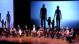 "Panel discussion ""What it Means to Be Human"" a..."