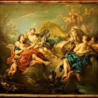 """Aurora and Cephalus"" by François Boucher"