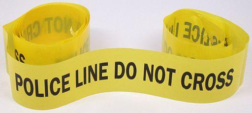 """Police Line"" Tape"