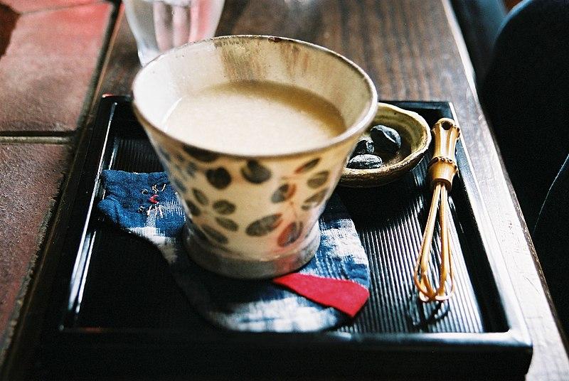 Amazake bebida típico de ano novo no japão, shougatsu