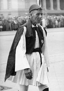 Ο Σπύρος Λούης στους Ολυμπιακούς Αγώνες του 1936 στο Βερολίνο.