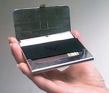 English: Business card case enclosure
