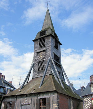 Clocktower of the Church of Saint-Catherine, H...