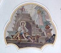 Langenargen Pfarrkirche Decke Alexius von Edessa.jpg