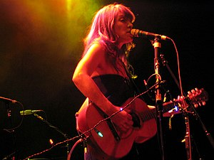 Canadian singer-songwriter Leslie Feist plays ...