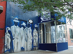 English: Exterior of the Nuyorican Poets Cafe ...