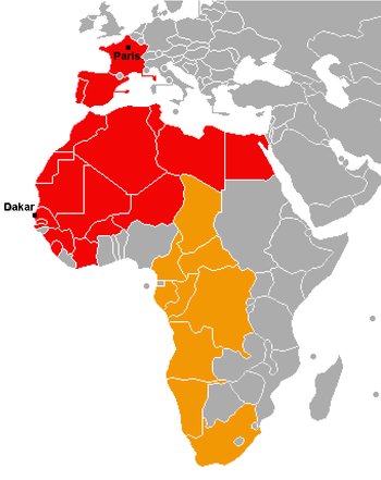 Countries the rally has been through during it...