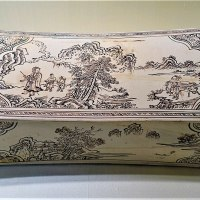 Ceramic Pillow with Landscape Scenes - Zhang Family Workshop