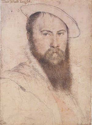 Thomas Wyatt the Elder died this year (Portrai...