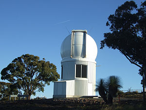 English: The SkyMapper telescope at Siding Spr...