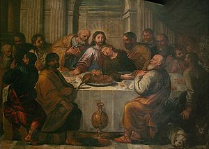 The Last Supper by Palma il Vecchio, National ...
