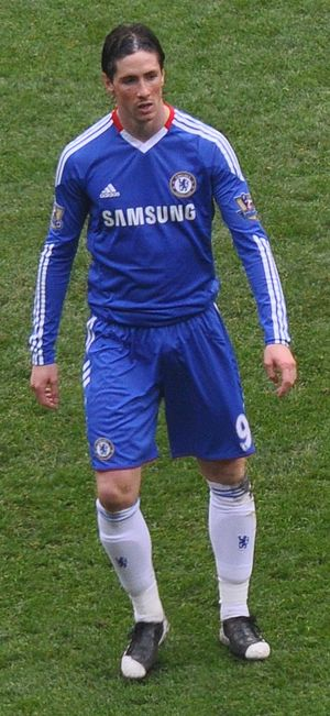 English: Fernando Torres playing for Chelsea F.C.