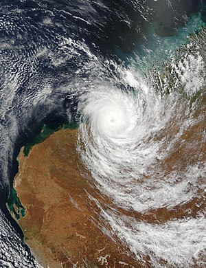 Tropical Cyclone Fay finally came ashore over ...