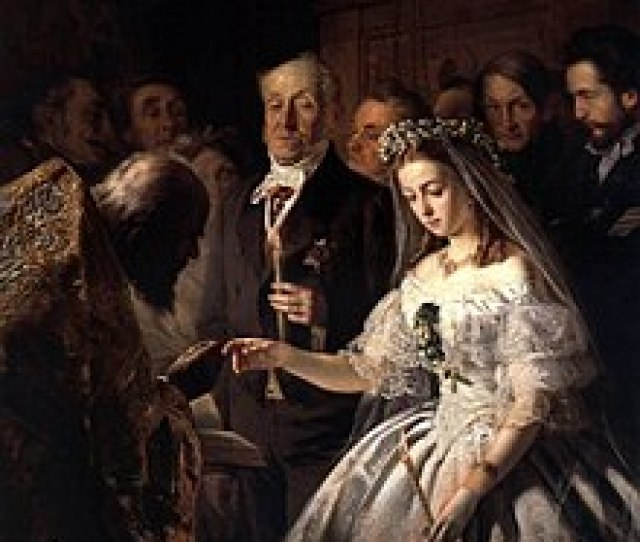 Unequal Marriage A 19th Century Painting By Russian Artist Pukirev It Depicts An Arranged Marriage Where A Young Girl Is Forced To Marry Against Her Will