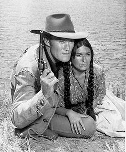 Chuck Connors Anne Morrell Branded 1965 Jpg
