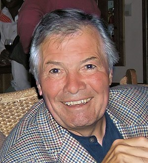 Photograph of chef Jacques Pépin at Aspen Food...