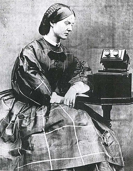 Mary Ward by microscope