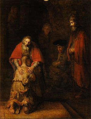 Rembrandt van Rijn, The Return of the Prodigal...