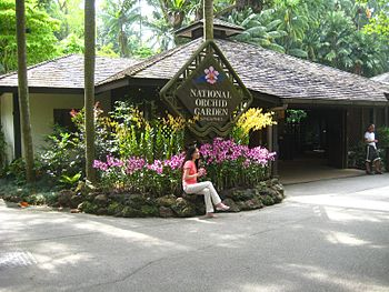 National Orchid Garden, Singapore.