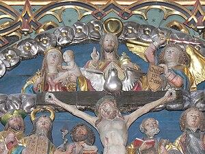 Wolframs-Eschenbach. Church of our Lady: Altar...