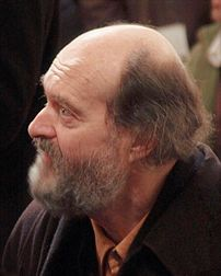 Estonian composer Arvo Pärt in Christchurch Ca...