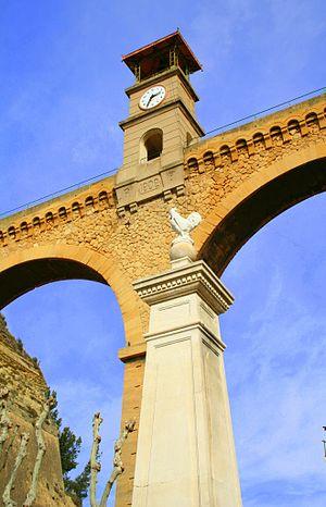 Pont de l'Horloge, Saint-Chamas, France