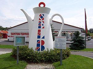 world's largest coffee pot, Selb (Bavaria)