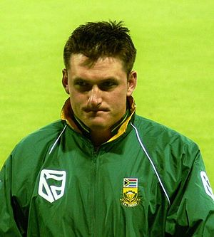South African cricketer Graeme Smith.