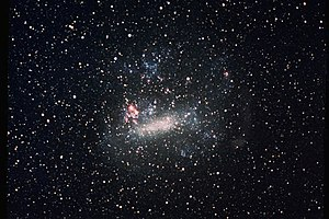 The Large Magellanic Cloud, the largest satell...
