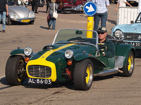 Lotus S III dutch licence registration AL-86-03-